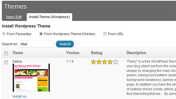 Update all your WordPress themes on all sites