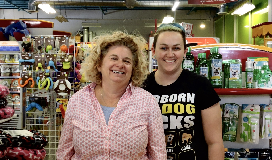 my pet garden co founder ruth tatom and her girl friday store manager christina pellegrino niels photo by emily g peters - My Pet Garden