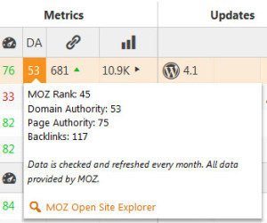 cmsc-da-metrics