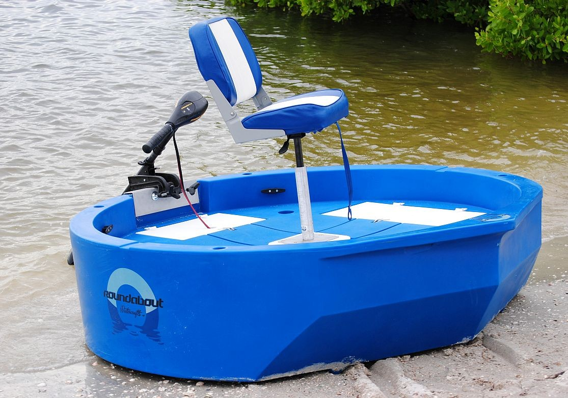 Round boat stability for Round fishing boat