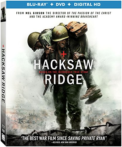 Hacksaw Ridge, DVD Review, by Kam Williams, Andrew Garfield, Pearl Harbor, Seventh-day Adventist, Mel Gibson
