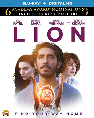 Lion,  Blu-ray Review by Kam Williams, Dev Patel, Priyanka Bose, Abhishek Bharate, Khushi Solanki, A Long Way Home, heartbreaking biopic that definitely packs an emotional punch