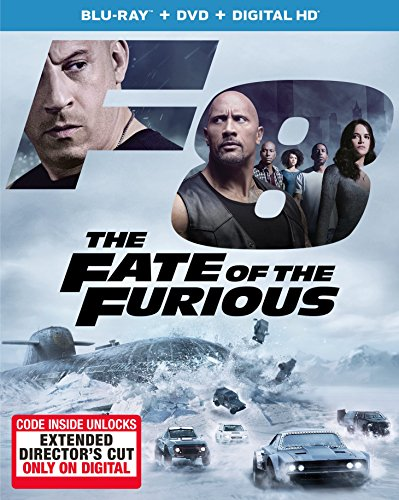 Action Films, The Fate of the Furious, DVD Review, Vin Diesel, Michelle Rodriguez