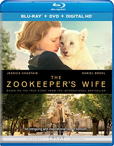 The Zookeeper's Wife, DVD Review, Johan Heldenbergh, Jessica Chastain, wildlife whisperer, Warsaw Zoo, Warsaw Zoo