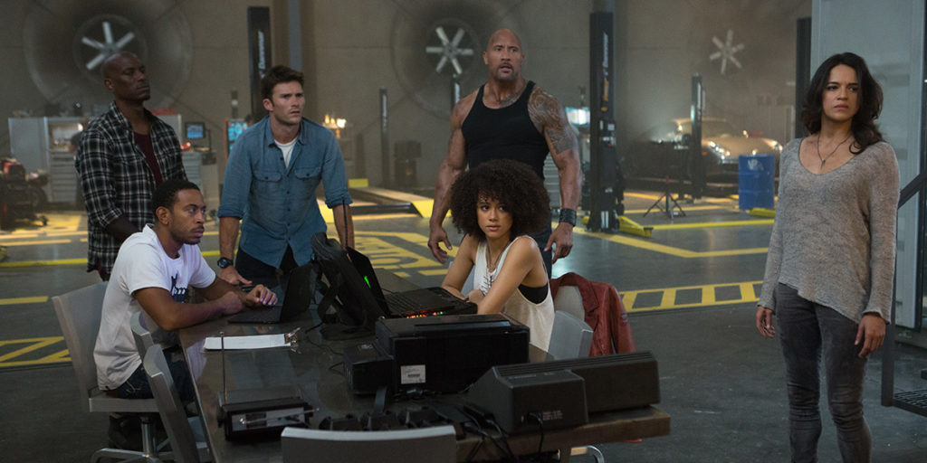 The Fate of the Furious,  Film Review by Kam Williams, Vin Diesel, Michelle Rodriguez, Charlize Theron, spectacular stunts, bona fide summer blockbuster